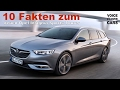 2017 Opel Insignia Sports Tourer - 10 Fakten zum...  erste Informationen! Voice over Cars
