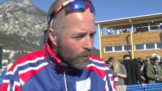 Fiemme 2013 - Trond Nystad - Coach of the Norwegian men's XC national team