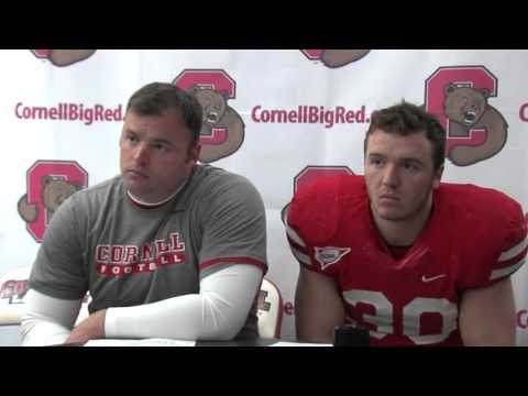 Postgame Interviews: Cornell Football vs. Brown - 10/24/15
