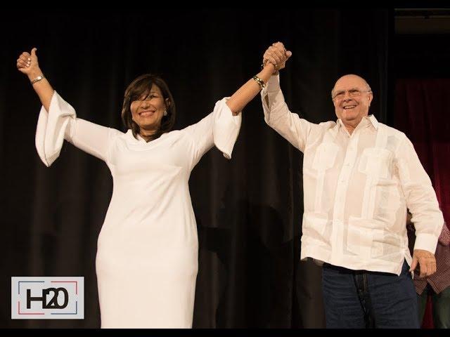 Geanilda Vásquez se une al PROYECTO H20 y a Hipólito Mejía
