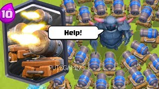 Funny Moments, Cannon Cart Epic Plays, Glitches, and Fails - Clash Royale Montage #22