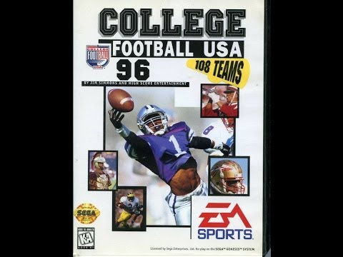 College Football USA 96 (Sega Genesis) - Game Play