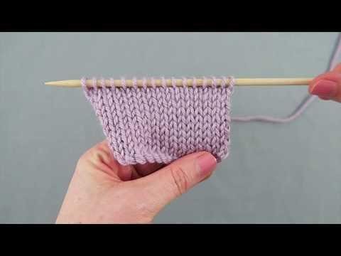 How To Knit Stocking Stitch