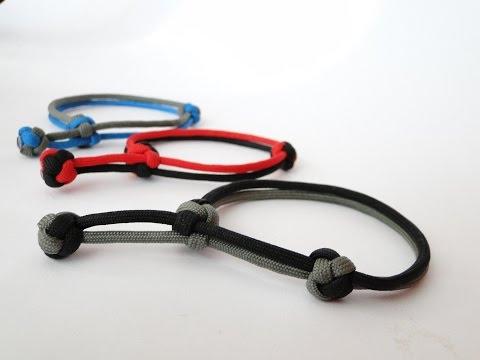 sliding knot bracelet instructions
