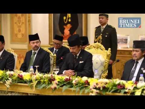 Kunjungan Presiden Jokowi ke Brunei Darussalam