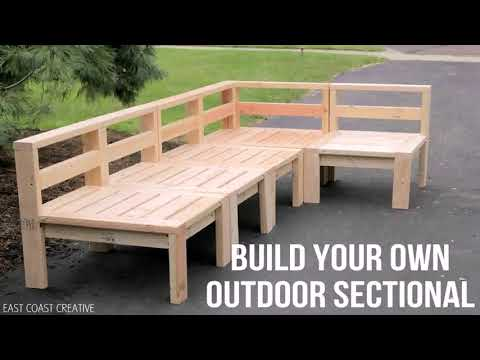 Outdoor Wood Sectional Sofa Plans