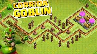 LAYOUT TROLL - DESAFIO DA CORRIDA GOBLIN!!! CLASH OF CLANS