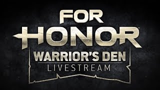 Warrior's Den Weekly Livestream - March 21st