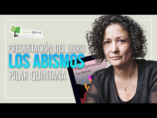 Pilar Quintana presenta