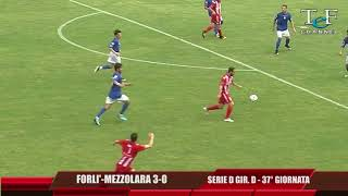Serie D Girone D Forlì-Mezzolara 3-0