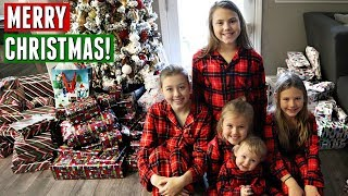 CHRISTMAS MORNING OPENING PRESENTS 2018!