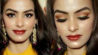 सर्दियों के लिए ग्लोइंग मेकअप कैसे करें/ How To Do Makeup Step By Step For WINTER