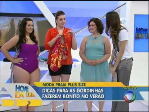 52c9d9a428df Dicas de biquínis para mulheres acima do peso com Renata Poskus Vaz - Hoje  em dia - Rede Record - YouTube