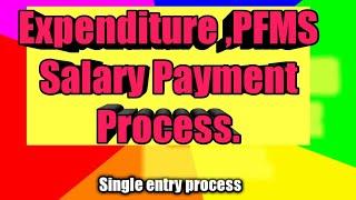 Expenditure ,PFMS Salary Payment Process.