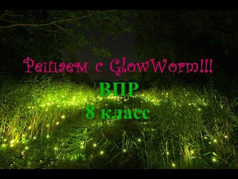Решаем с GlowWorm ВПР по математике 8 класс
