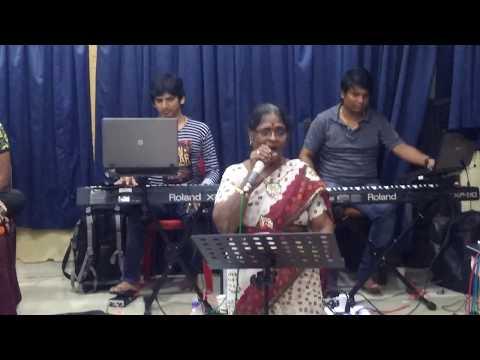 Rehearsal with Nandu Kerkar's 12-piece orchestra