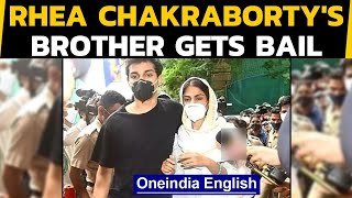 Showik Chakraborty gets bail in the drug-related charges in Sushant death case|Oneindia News