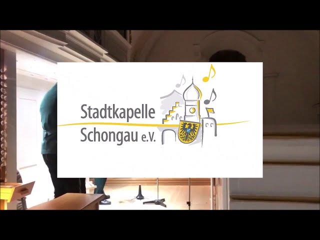 Stille Nacht Bläserquartett Stadtkapelle Schongau