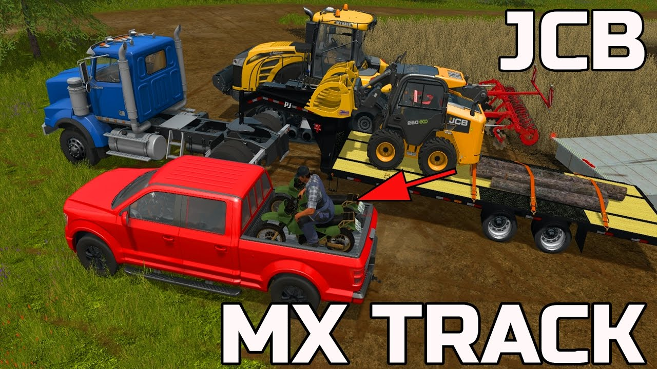 Farming simulator 2017 building a mx track multiplayer for Online house builder simulator