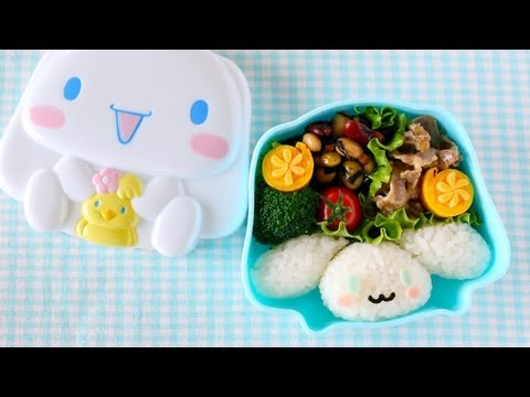 cinnamoroll bento lunch box kyaraben ochikeron create eat. Black Bedroom Furniture Sets. Home Design Ideas
