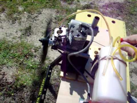 JBA 15G gas engine break-in and bench test