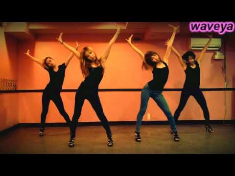 Waveya creation dance ☆ Sugababes Get Sexy 웨이브야 Choreography Ari ( korean dance team)