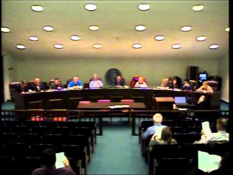 Town of Monroe Ct Town Council Meeting January 25th 2016