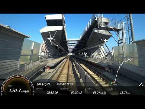 2019.1台鐵 176次PP自強號 彰化-台北 SONY FDR-X3000 Action Cam GPS 參數資料 路程景Changhua-Taipei Taiwan