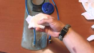 HOW TO DRY A CAMELBACK BLADDER THE EASY WAY