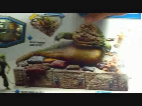 Wal-Mart exclusive Star Wars Jabba The Hutt: Jabba's ... Jabba The Hutt And Oola