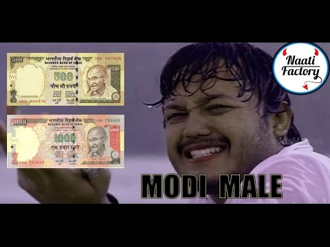 Mungaru Male as Modi Male - By NaatiFactory