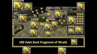 100x Dark Fragment of Wrath !