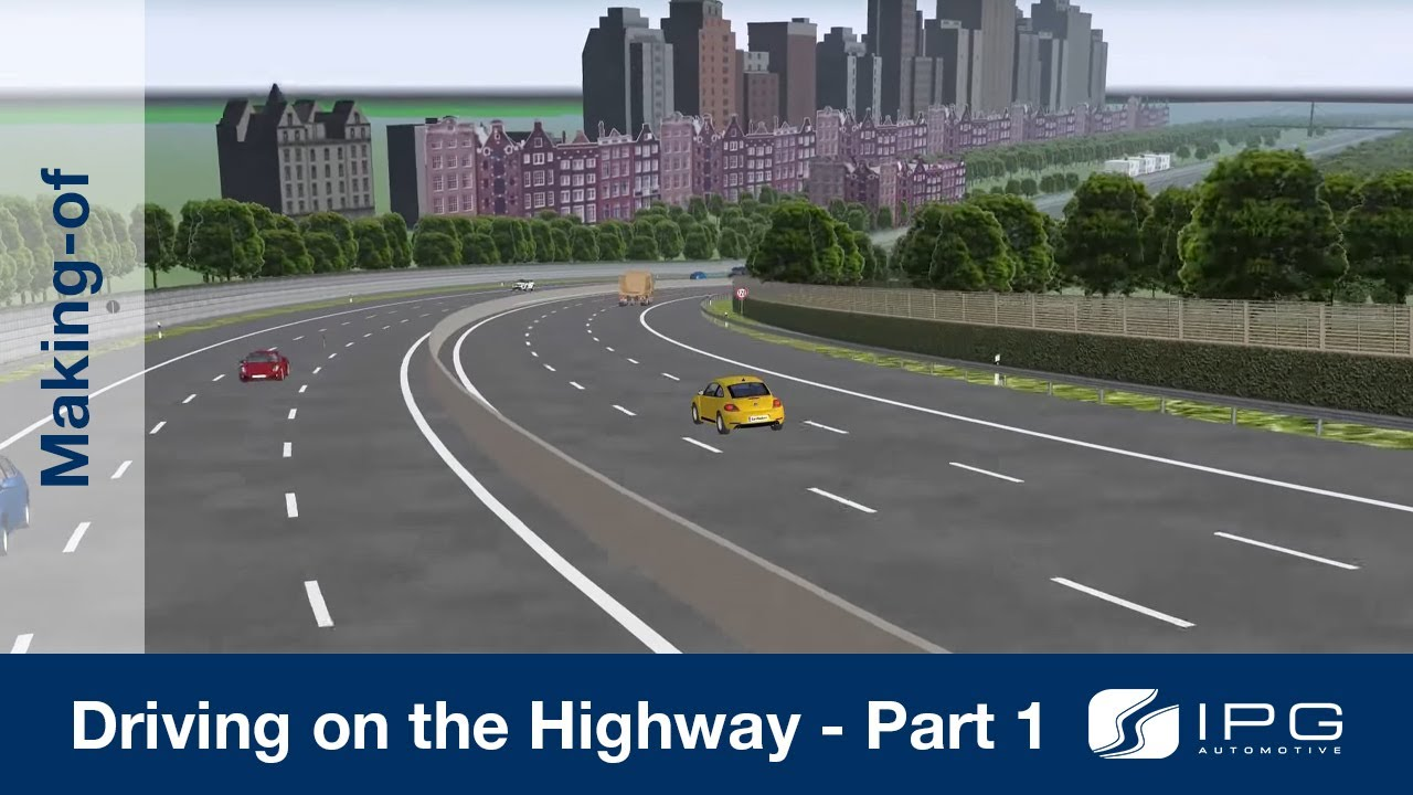 Making Of CarMaker Driving On The Highway Part 14