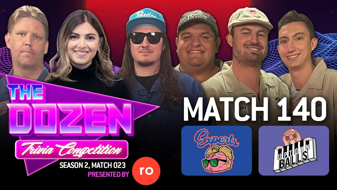 Download Trivia Tournament Rematch With The Experts Back On A Roll (The Dozen pres. by Roman, Match 140)