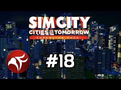 Expanding Power in Terratown - SimCity Cities of Tomorrow Ep 18