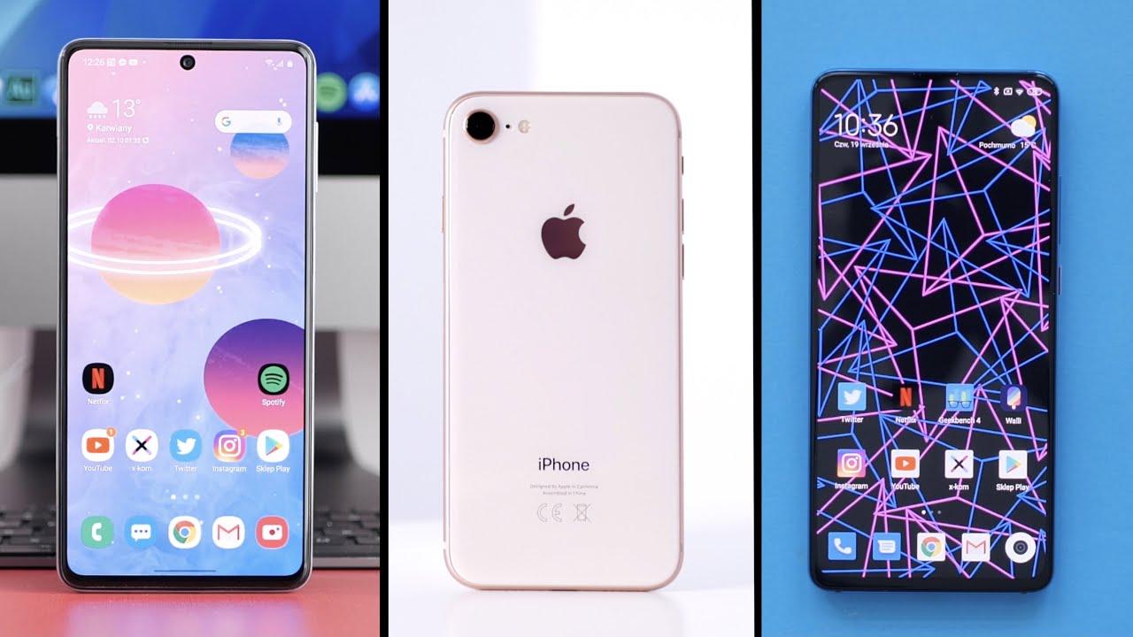 TOP 10 smartphones up to PLN 1,500 (2020/2021)