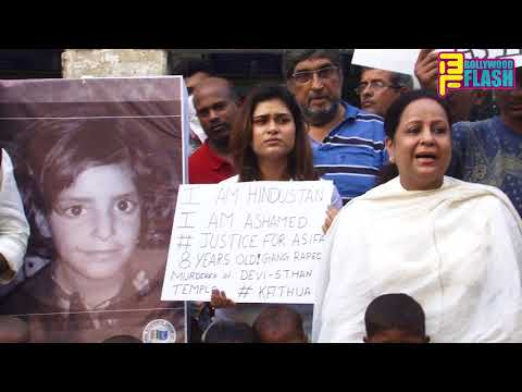 Candle March Protest In Mumbai - Asifa Gang R*pe Justice