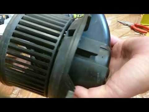 Спринтер 212 мотор печки халявный ремонт своими руками
