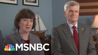 GOP Senators React To James Comey Firing Fallout | MTP Daily | MSNBC