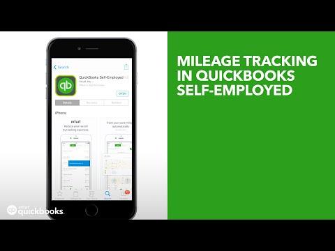 Mileage tracking in QuickBooks Self-Employed (UK Edition) - YouTube