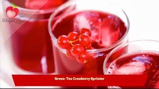 Green-Tea Cranberry Sprinter recipe  Green tea recipe