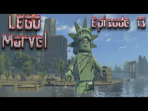 Let's Play LEGO Marvel Super Heroes - Episode 13: Battling Lady Liberty!!
