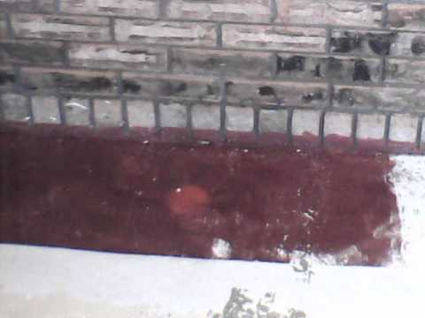 how to clean rust off brick