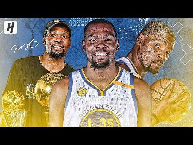 Kevin Durant VERY BEST Highlights & Moments with Golden State Warriors (2016-2019)