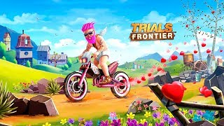 Trials Frontier - Gameplay Android & iOS Game - Bike racing game