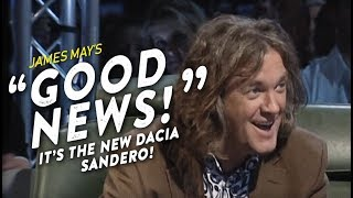 "❰ TOP GEAR ❱ ""Great News!"" Dacia Sandero (HD)"