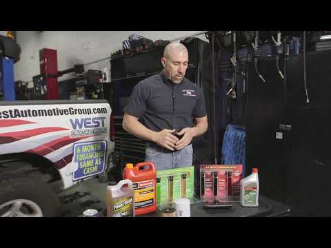 Servicing Fluids on Your Vehicle
