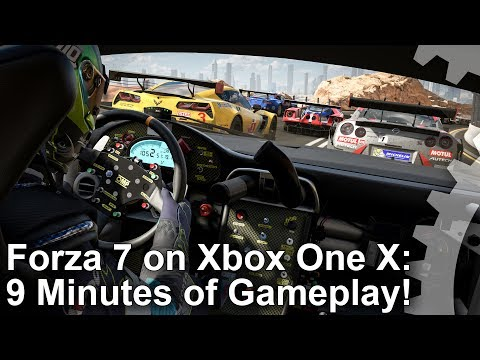 [4K] Forza Motorsport 7 Xbox One X - 9 Minutes of Gameplay