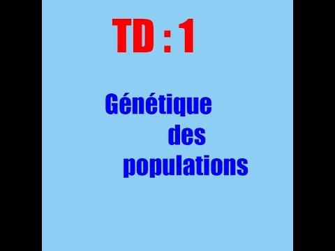exercices :  génétique des populations
