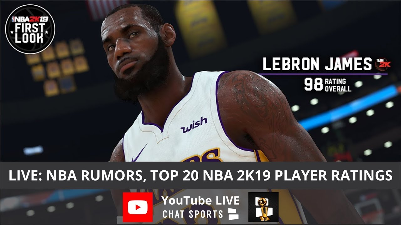 NBA News & Rumors, Cavs Extend Kevin Love, Top 20 NBA 2K19 Player Ratings &  Lakers Rumors